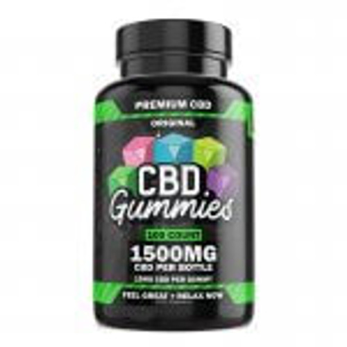 Hemp Bombs CBD Gummies 100-Count