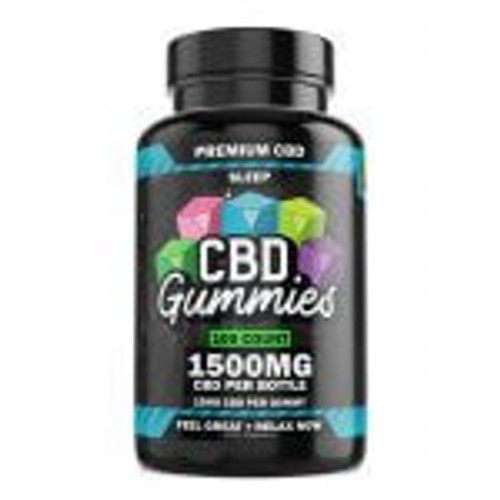 Hemp Bombs CBD Sleep Gummies 100-Count