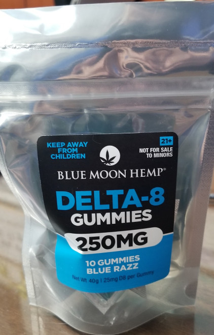 Blue Moon Blue Razz  25MG 10-Pack