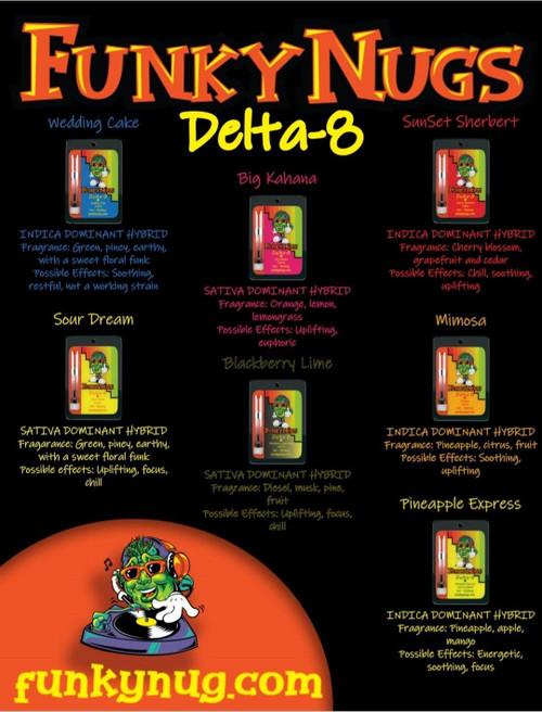 D8 Funky Nugz  Cartridges