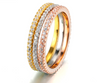 Round Classic Round Wedding Anniversary Wedding Band RCE234