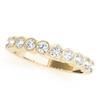 Antique Round Bezel Diamond Wedding Band ARB238