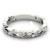 Classic Leaf Diamond Wedding Band Design CLD244