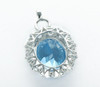 Natural Topaz Engagement Wedding Pendant Gemstone T85739