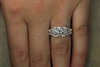 Vintage Style Engagement Ring and Band with GIA Certified .89ct VG SI1 E