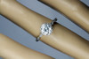 Unique Halo Vintage Engagement Ring with GIA Certified 1ct I SI2 Good Cut