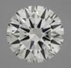 GIA Round 1.02 VS1 3X Hearts and Arrows Diamond