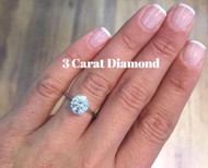 How Much does a 3 Carat Diamond Cost?