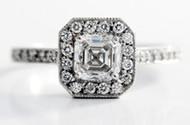 Asscher Cut Diamonds | Cut Guide & Ideal Proportions