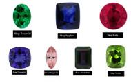 Natural Diamonds vs Lab-Grown Diamonds vs Moissanite vs White Sapphire