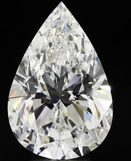 Pear Cut Diamond Shape Proportion Ratios Guide Chart Information
