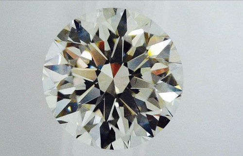 Round Brilliant Cut Diamond 3.01 G VVS2 V.G