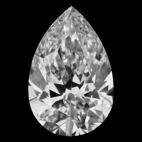 Pear Cut Ring - Custom Order