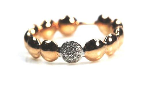 Rose Gold Ring, Stackble Ring,