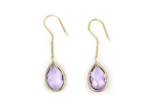 Beautiful Amethyst Earrings