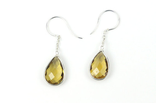 Natural Citrine Earrings