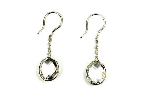 Crystal Quartz Earrings