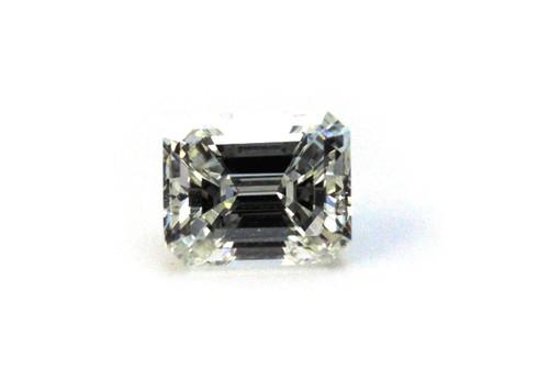 Emerald Cut Diamond 1.51 VVS2 G GIA Certified Ideal Proportions