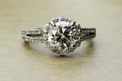 unique tolkowsky round brilliant cut diamond