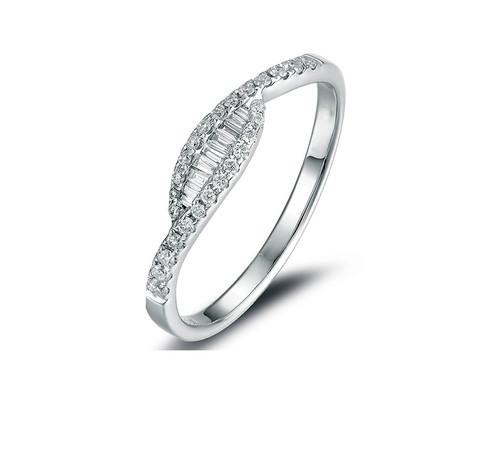 Unique Diamond Anniversary Wedding Band UFS583