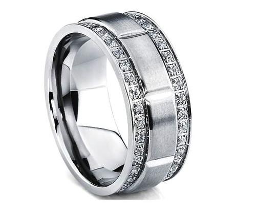 Diamond Men's Wedding Band WBB262