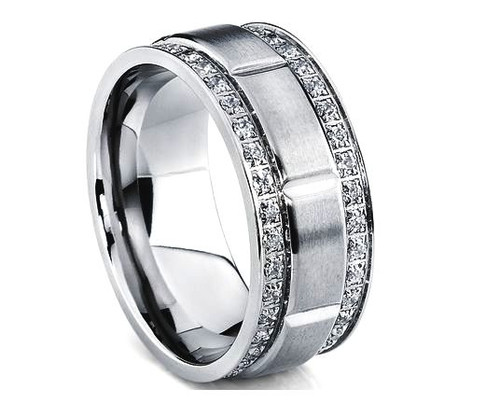 Diamond Men's Wedding Band WBB262