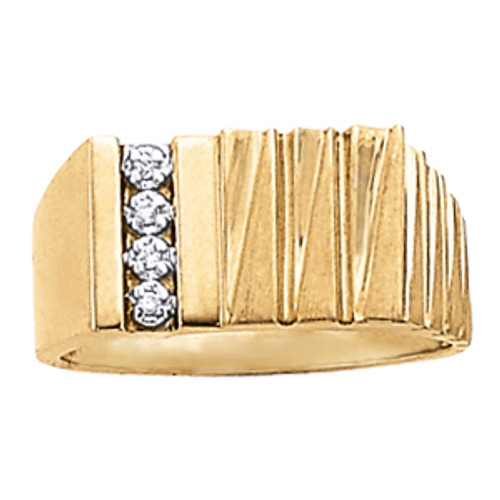 Men's 7MM Diamond Ring G10004