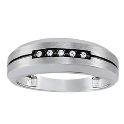 Men's Diamond Band B100045