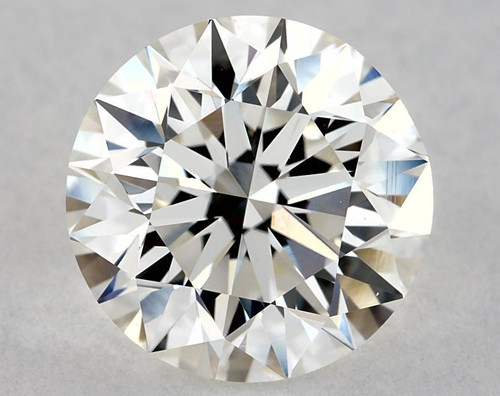 GIA Round 1.8ct H VS1 3X Excellent Round with Mounting & Band