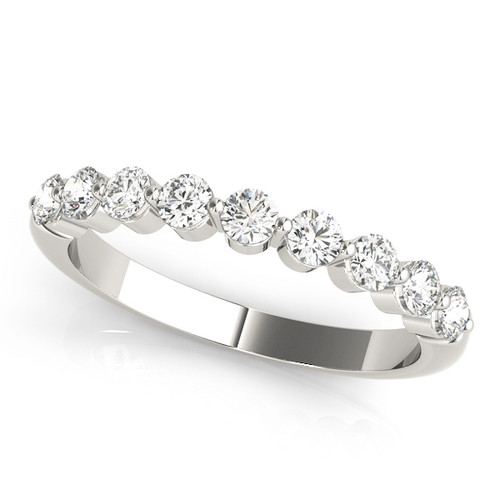 Antique Best Selling Nine Stone Wedding Band ABS482