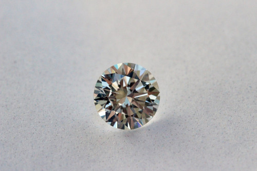 Round Brilliant Cut GIA Certified 1.10 Carat H SI2 3X Excellent Ideal Cut Eye Clean