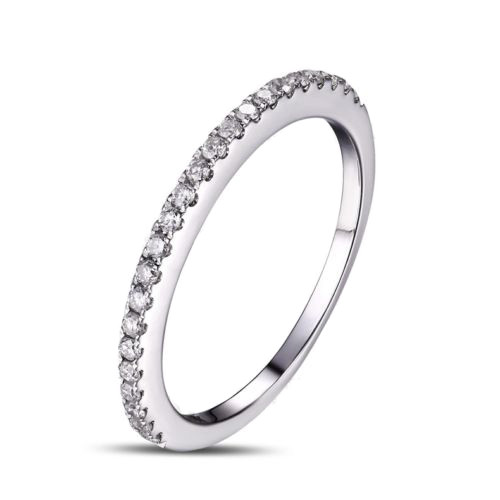 Wedding Band with Round Cut Diamonds WBB492