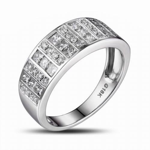 Channel Set Men's Diamond Wedding Band CH8493