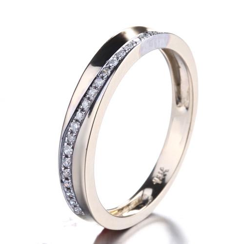 Unique Diamond Wedding Band UDW483
