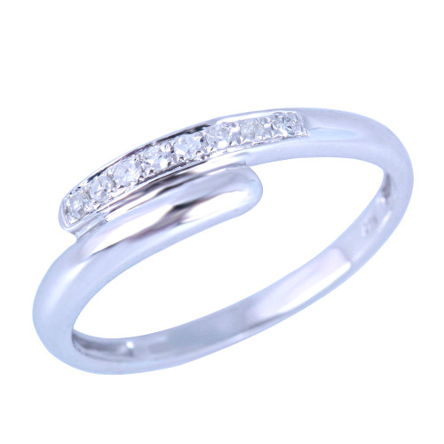 Unique Diamond Wedding Band  UDW442