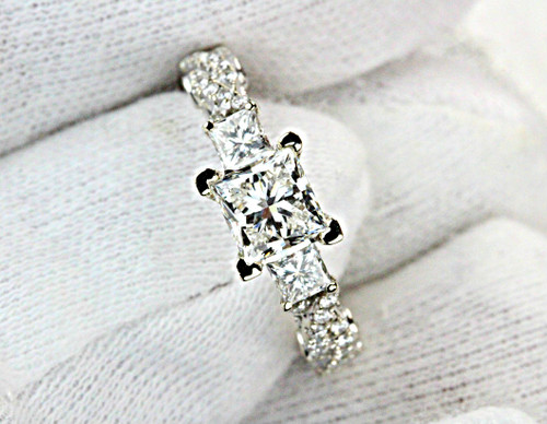 Unique Princess cut Diamond GIA Certified Diamond G VS2