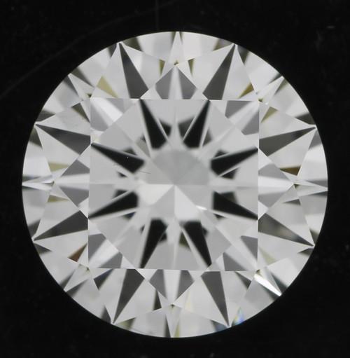 GIA Round 1.04 VS1 I 3X hearts and arrows diamond