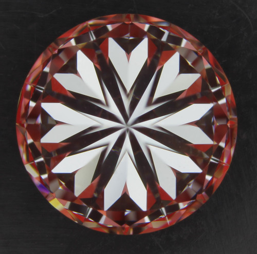 GIA Round 1.2ct I VVS2 3X Hearts and Arrows Cut Diamond