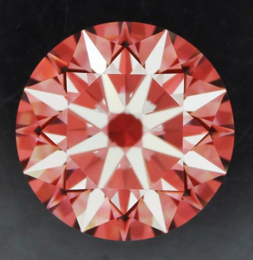 GIA Round 1.16 G VVS2 3x Hearts and Arrow Cut diamond