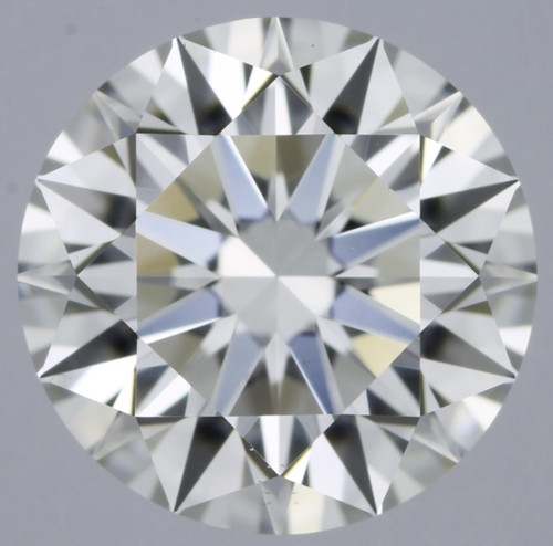 GIA Round 1.04 F VVS2 3X Hearts and Arrows Cut Daimond