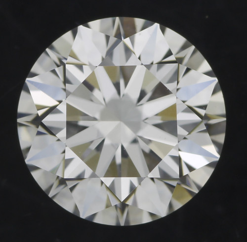 GIA Round 1.07 F VS1 3x Hearts and Arrows Cut Diamond