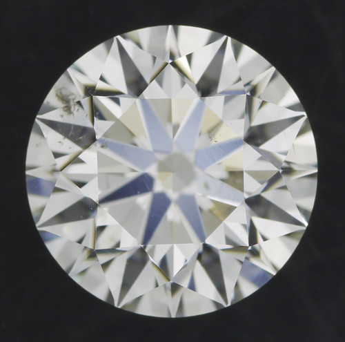 GIA Round 1.5ct G SI1 3x Hearts and Arrows Cut Diamond