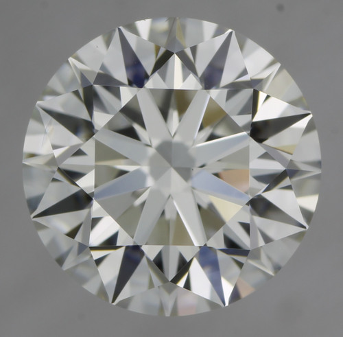 GIA Round 1.26ct F VVS2 3X Hearts and Arrows Cut Diamond