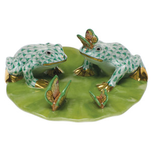 Frogs on Lily Pad