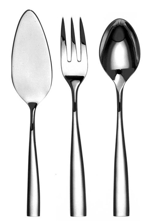 Silhouette Silver Plated 4-Piece Hostess Set