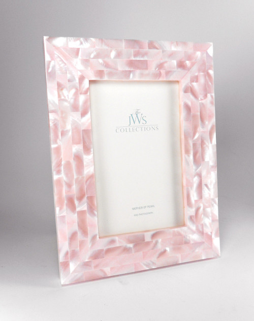 Pink Mother of Pearl Frame | 4x6