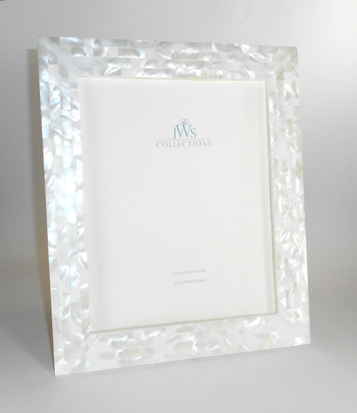 White Mother of Pearl Frame | 8x10
