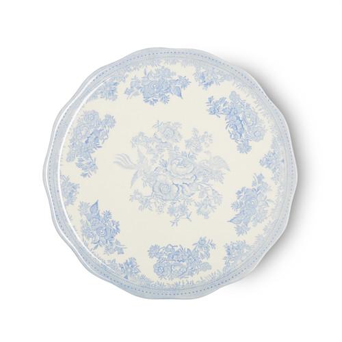 Burleigh Blue Asiatic Pheasants Cake Plate