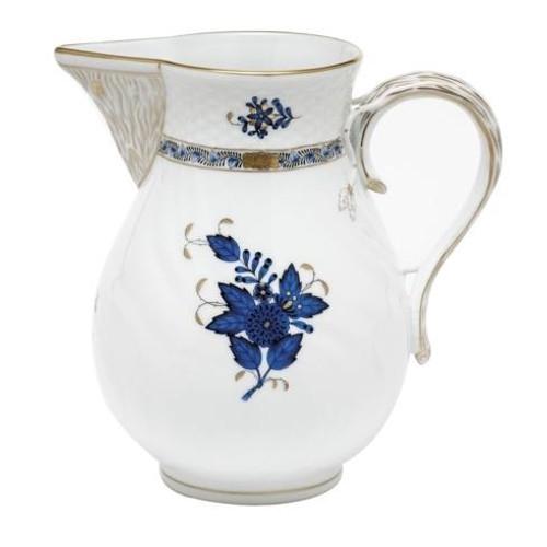 Chinese Bouquet Black Sapphire Pitcher - Black Sapphire