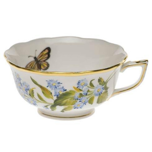 American Wildflowers Blue Wood Aster Tea Cup